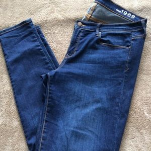 Gap Legging Jean Blue Jeans (33XL)